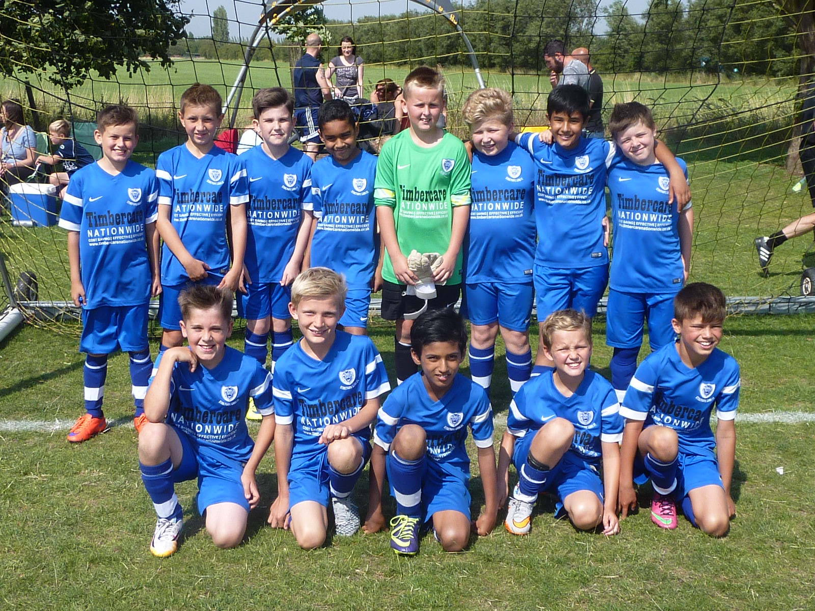 Stoneygate Lions U11 Royals 2015-16 Home Kit