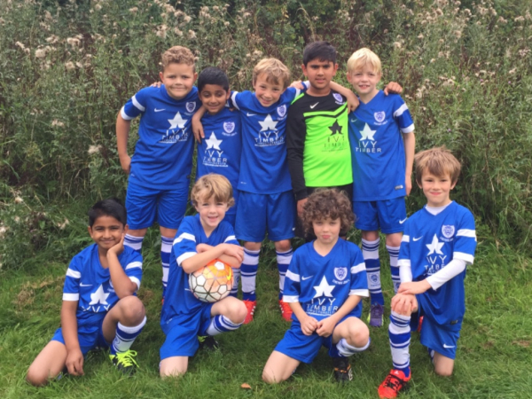 Stoneygate Lions U9 Royals 2015-16 Home Kit
